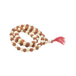 rudraksha pearl mala