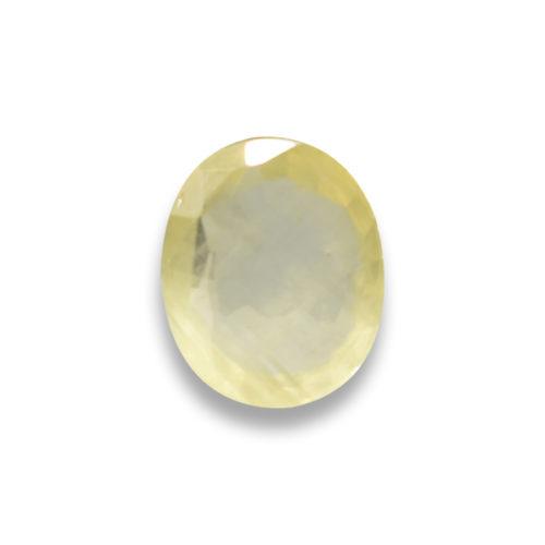 Siddh Yellow Sapphire Gemstone