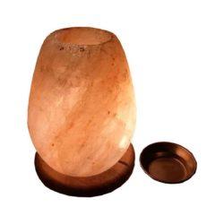 himalayan salt lamp cum oil burner
