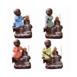 kung fu monk ceramic