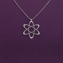 Carbon Atom Necklace