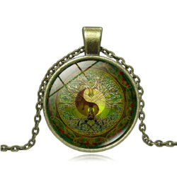 Fengshui Mandal Necklace