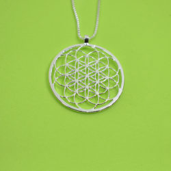 Flower Life Necklace