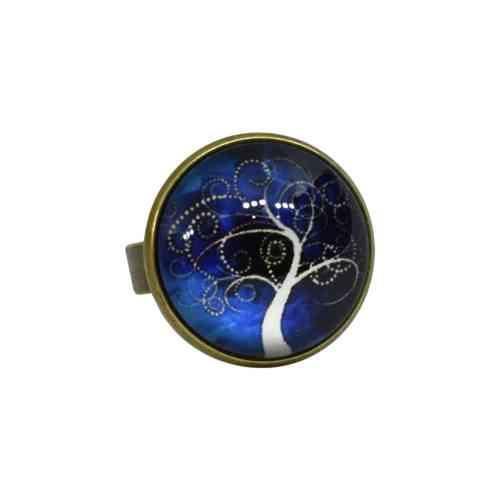 blue tree ring