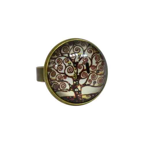 brown tree ring