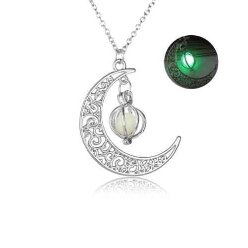 moon radium necklace