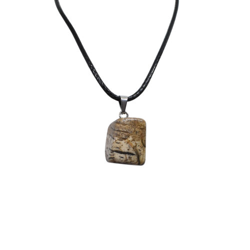 agate stone locket