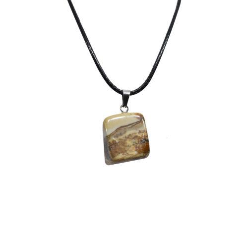 agate stone pendant