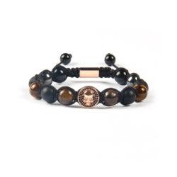 tiger eye copper bracelet