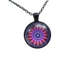 shree yantra mandala pendant