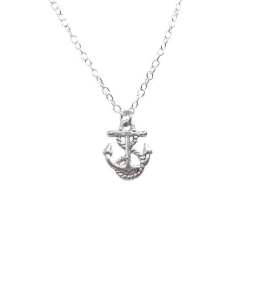 anchor charm locket