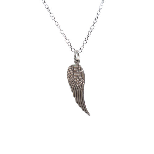 angel wing charm pendant