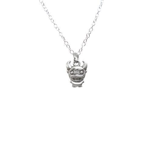 buffalo head charm pendant
