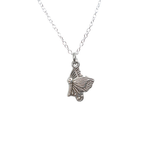 butterfly lucky charm pendant