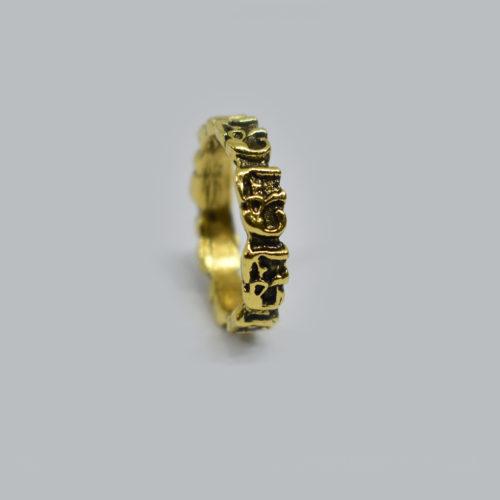 Manuscript Brass Ring