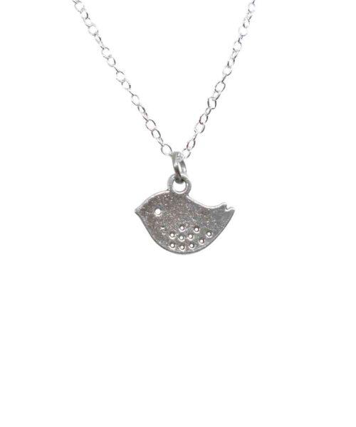 bird charm pendant