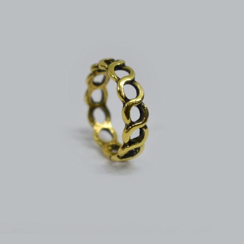 Chain Brass Ring