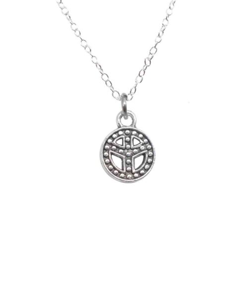 peace charm pendant