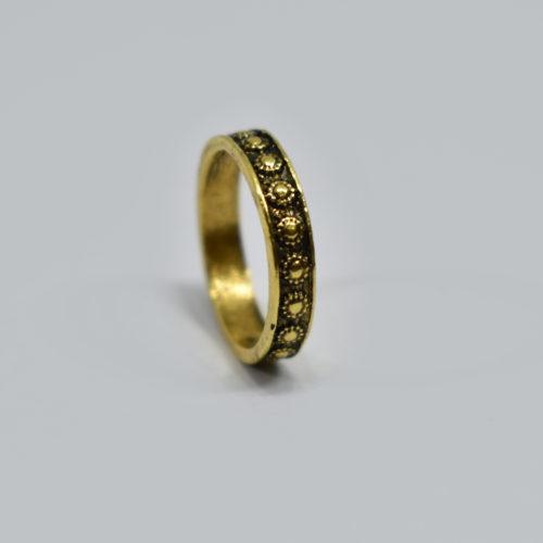 Flat Brass Ring