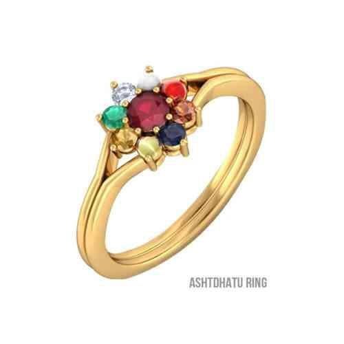 Certified Navratna ring