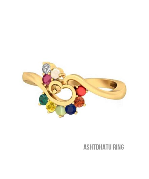 Navratna Gemstone Ring
