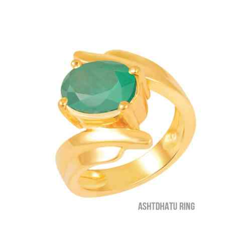 Siddh Emerald Ring