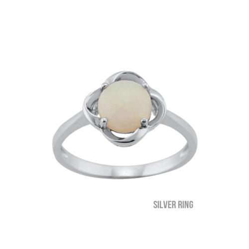 Certified Opal Ring