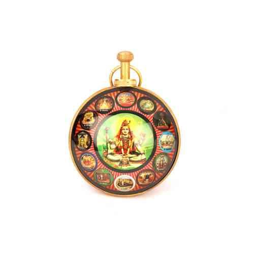 12 Jyotirling Wall Hanging Yantra