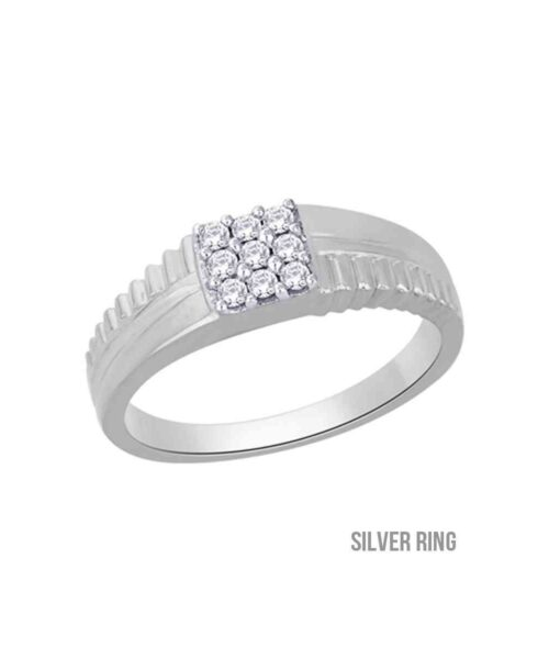 certified american diamond ring