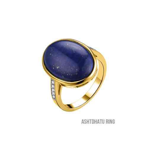 energized lapis lazuli ring