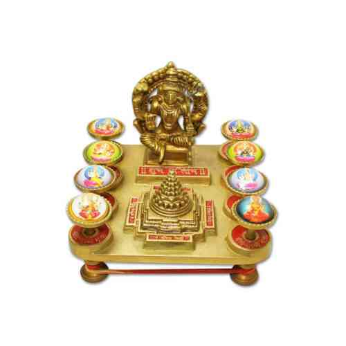Ashta Lakshmi Shree Yantra Chowki