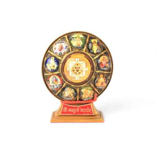Shree Nav Durga Yantra Chowki