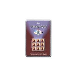 Foreign Study Card Pyramid