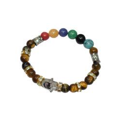 Seven Chakra Beads Bracelet