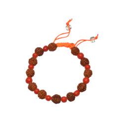 Rudraksha Munga Bracelet