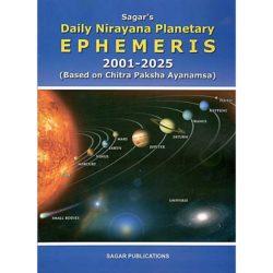 Daily Nirayana Planetary Ephemeris Book