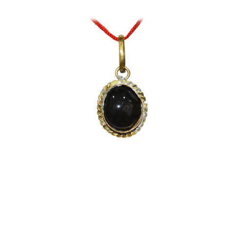 Black Hakik Locket
