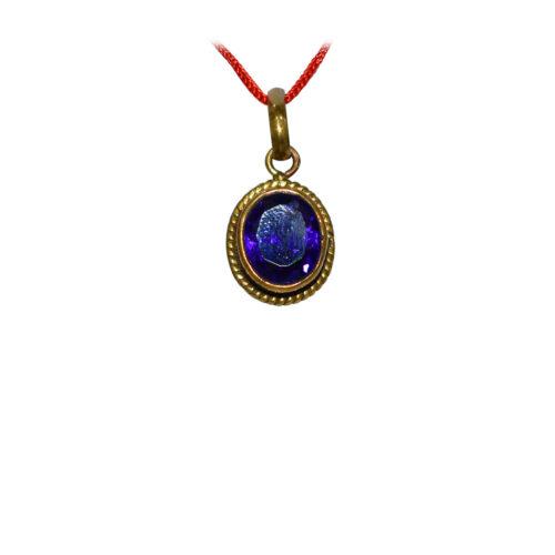 Blue Stone Pendant