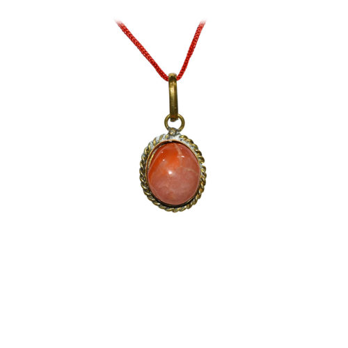 Red Agate Pendant