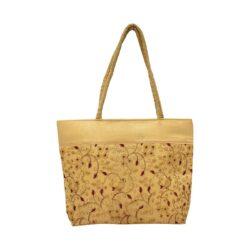 Golden Flower Bag