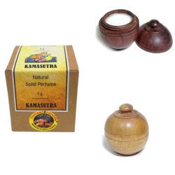 Rose Perfume Wooden Pot