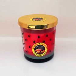 Watermelon Soy Glass Candle